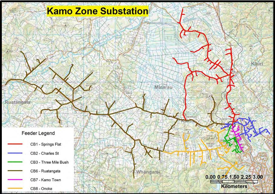 Network Development Plan 5-23 Kamo Zone Substation Kamo Geographic