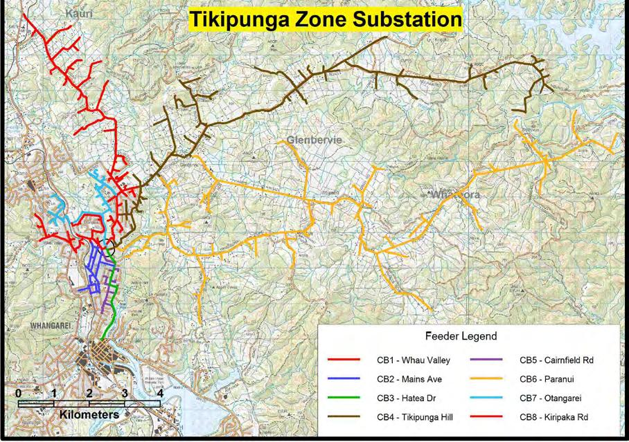 Network Development Plan 5-31 Tikipunga Zone Substation Tikipunga