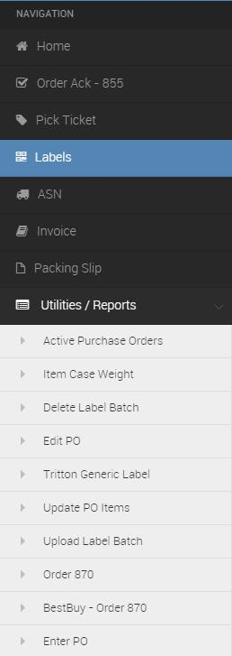 purchase orders On this page, you can select certain PO s to archive Archiving a PO makes it disappear from the selection screens, but it is still available if you search for it from the search bar