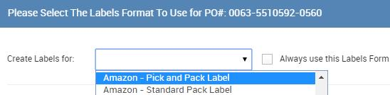 by selecting Always use this labels form for Staples and you will skip this page next time If you choose this default form, but need to change it later, you can do that as well Look for this in the