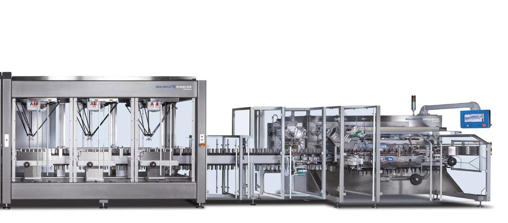 Tableting Included Flexible-Format Solution High Level of Automation Quick and Easy Changes Continuous production rather than offline operation ensures consistently high tablet quality Fewer start-up