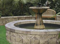 Below Ground Pond/Water Feature To create a low profile accent to your yard or garden, add a below ground pond with the AB Courtyard Collection.