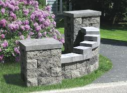 AB Weekend Projects Entry Monument with Planter In just a weekend you can create a beautiful plantable entry monument that will give your yard great curb appeal.