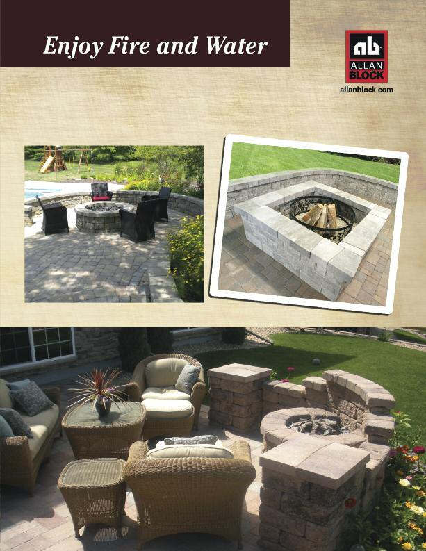 Accessorize your backyard with beautiful amenities like a fire pit or pond.