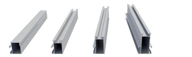the load bearing capacity in the splice zone as the splices have the same static load values as the corresponding mounting rails.