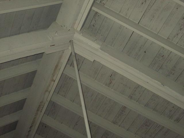 Photo 33: Ridge beam, rafters
