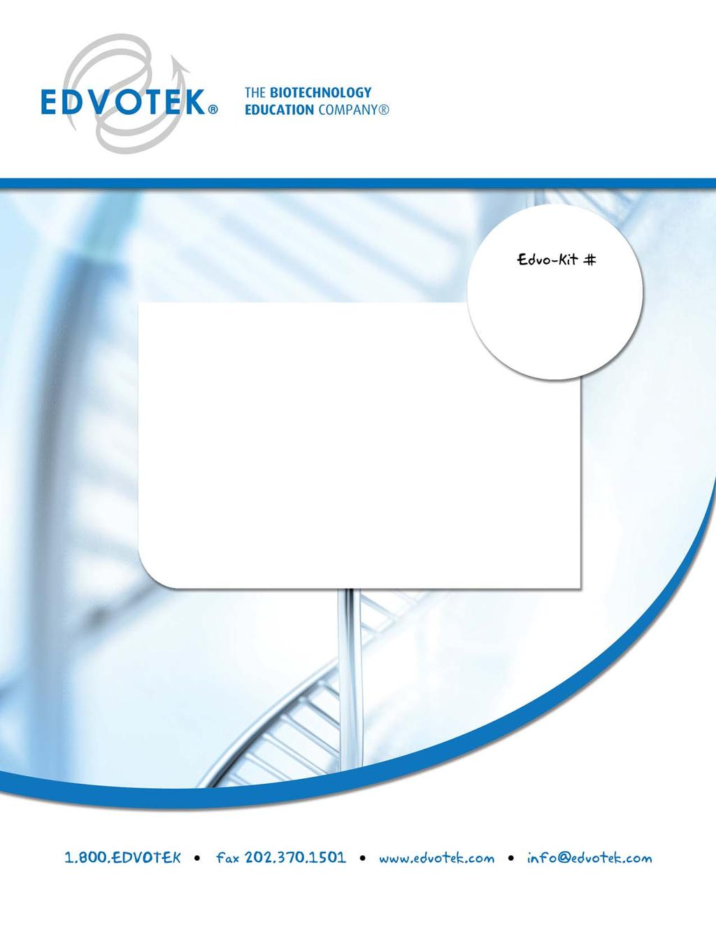 Edvo-Kit #101 Principles and Practice of Agarose Gel Electrophoresis Experiment Objective: The objective of this experiment is to develop a basic understanding of electrophoretic