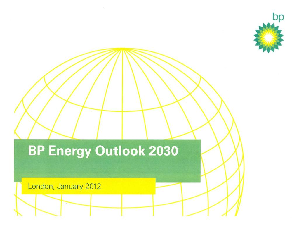 BP Energy Outlook Much more Eurocentric than Exxon-Mobil Nearer term focus to 2030 Sees near-term