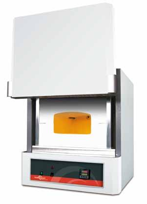 Compact muffle furnaces for pre-heating T max.