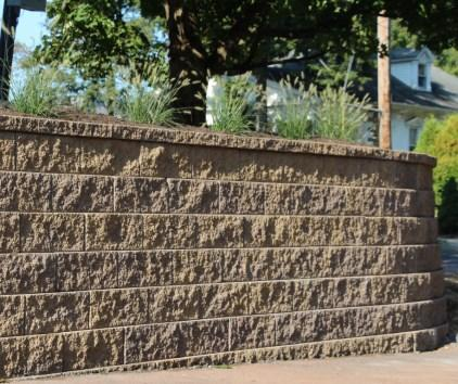 SIGMA RETAINING WALL The Cambridge Sigma Wall System is built to the highest standards in height, texture, color and ease of use.