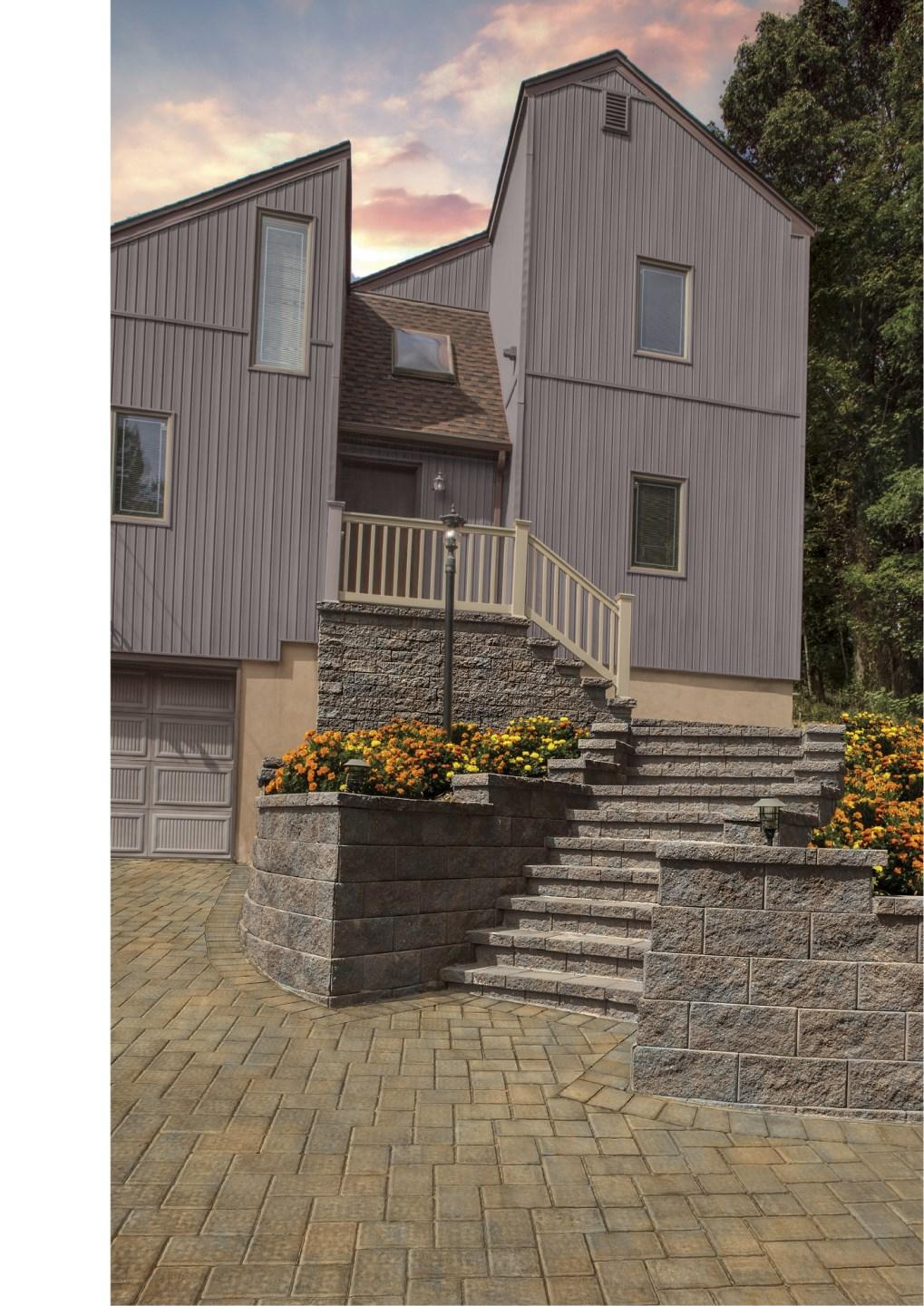 Mortarless Segmental Retaining Walls installed in North America surpass every country world-wide.