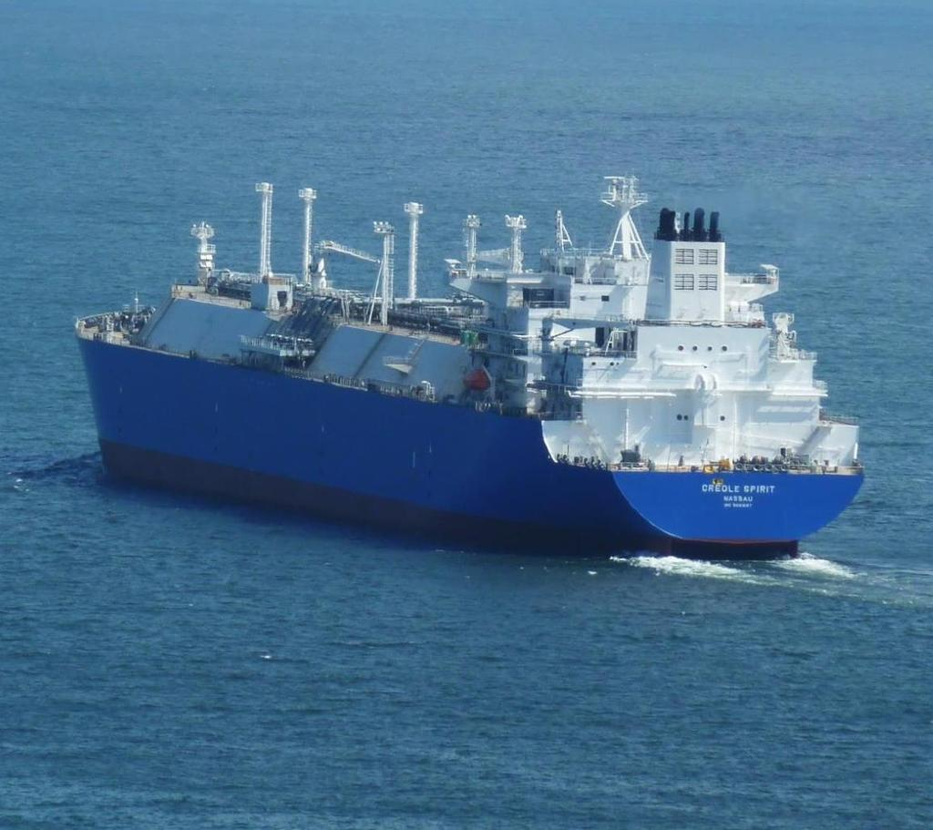 World s First MEGI LNG Carrier Newbuildings Creole Spirit Delivered today Will commence charter in