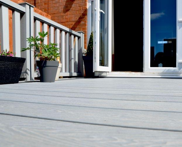 performance features of original composite decking.