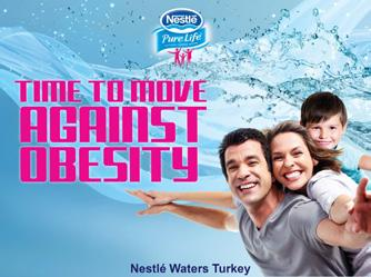 Promoting water in the fight against obesity Our Time to move against obesity campaign in Turkey has aimed to highlight the importance of healthy hydration and exercise in the fight against obesity.