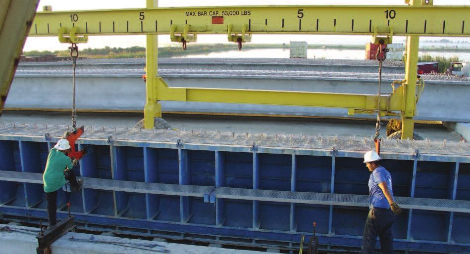 Formwork: To Split or Not to Split.I-Beam Sideforms H amilton Form has produced literally hundreds of miles of girder or I-beam sideforms over the past several years.