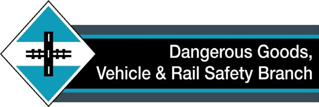 Dangerous Goods and Rail Safety A Technical Publication from the
