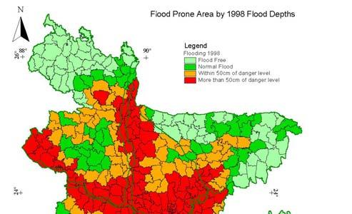 Devastating floods of 1987, 1988 and 1998 inundated more than 60% of the country.