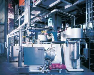 life cycle in processing highly abrasive products Constant output quality with variable premixes Wide viscosity