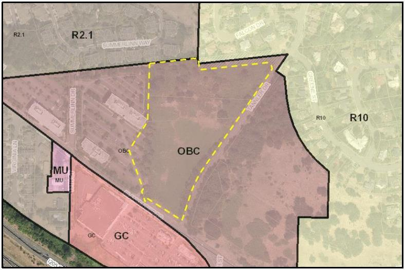 Existing Zoning and Land