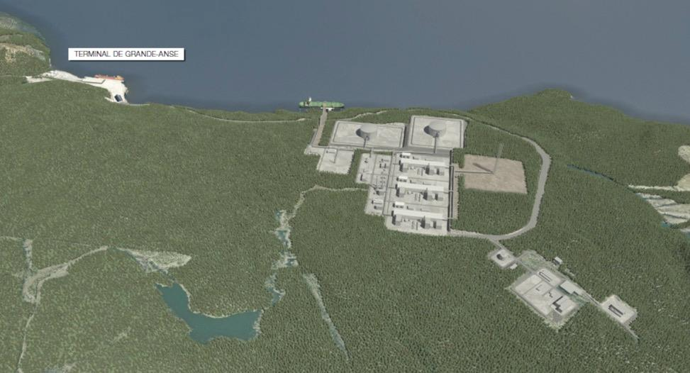 Energie Saguenay Plant Layout