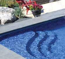 uninterrupted liner pattern across your pool, and to