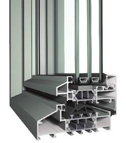 Operable & Fixed Windows SL38 INSWING CASEMENT Slim design