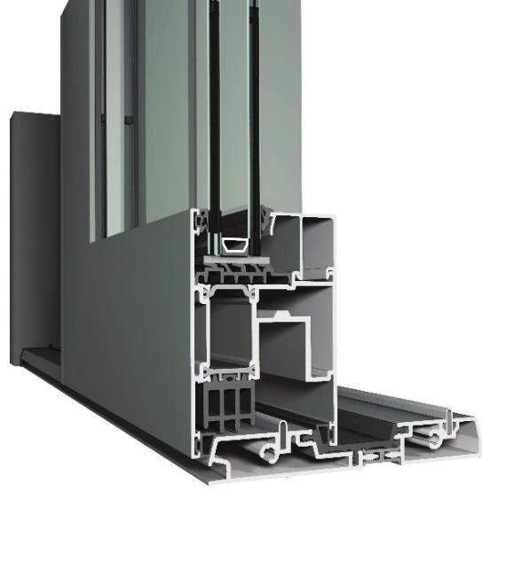 CP 155-LS THE LIFT & SLIDE SOLUTION FOR LARGER APPLICATIONS Design & functionality Lift & slide, monorail,