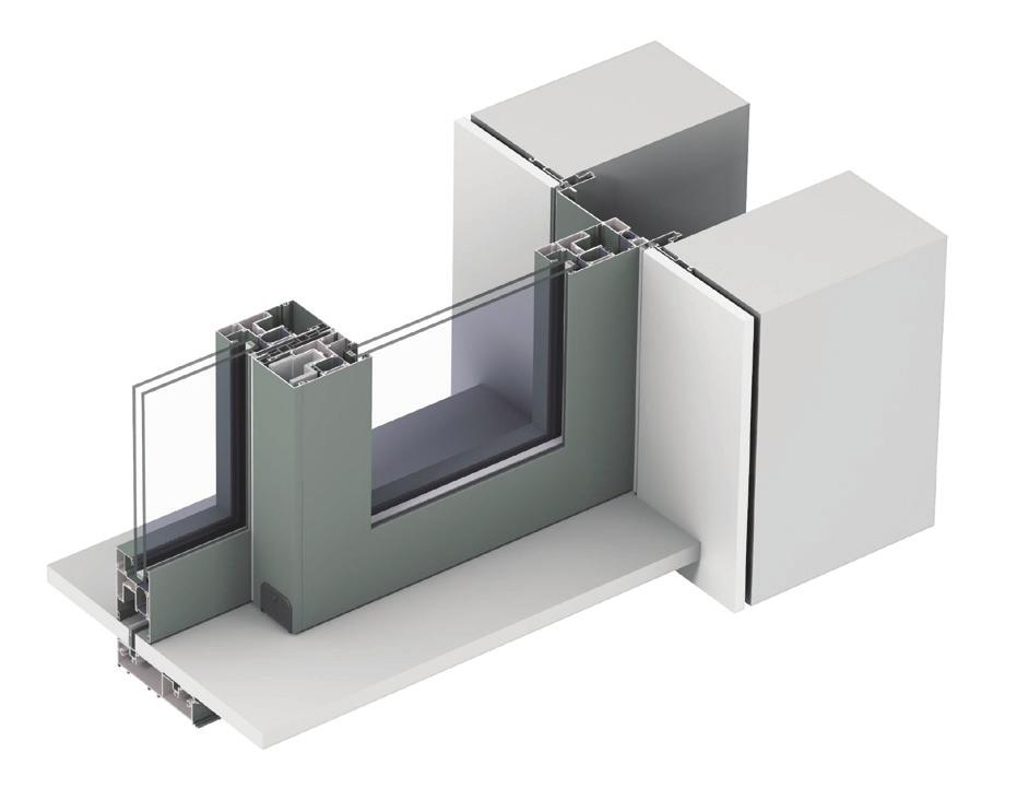 Unmatched Design & Performance Flexibility in Aluminum Not interested in visible profiles?