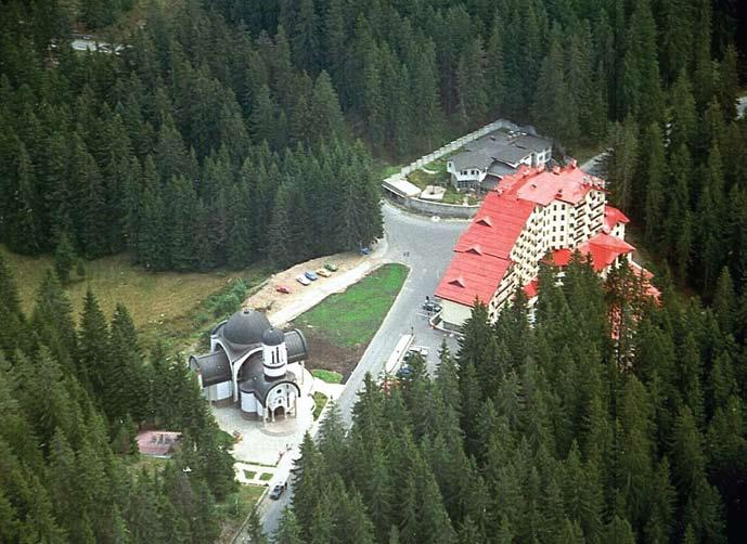 tourism Top View of the newly built church in Pamporovo Pamporovo Hotels Survey Tourists Preferences Key findings: 53 percent of the tourists choose their destination and hotel on the internet; Among