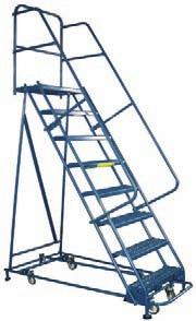 load rating n Packed and shipped securely to prevent damage in transit Office Ladders Models up to 5 steps, all with solid steel,