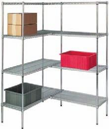 Shelving Store more. More efficiently. More economically. SPG shelving comes in a wide array of configurations to help you maximize available space.