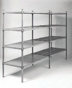 Perfect for a wide range of applications and environments, SPG shelving includes: n Heavy-duty square post wire shelving n Plasteel non-corrosive shelving n Plastic Plus shelving n Standard-duty