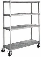 Carts Big Capacity Wire Cardboard Carts Chrome