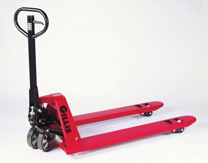 Pallet Trucks The lift your business needs. With a 5,000 lb. capacity, SPG pallet trucks offer you big performance advantages.