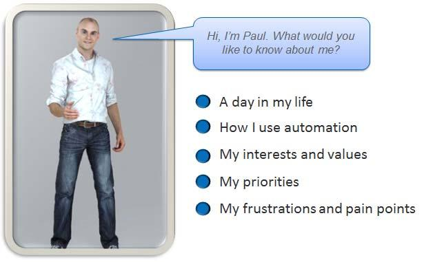 Creating a Persona Avatar for Pragmatic Paul can enhance