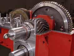 pinion stands for the steel industry, specifically for Hot and Cold Rolling Mills.
