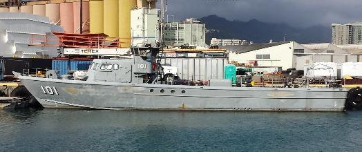 Marine Operations 84-ft Torpedo Weapons Retriever Full galley, 4 crew berths Modified to Support SEI Renewable Energy Operataions