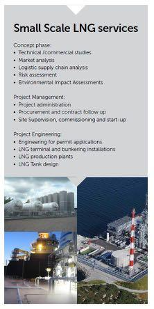 Norconsult LNG service areas Norconsult AS has established experience in the onshore gas sector since 2000.