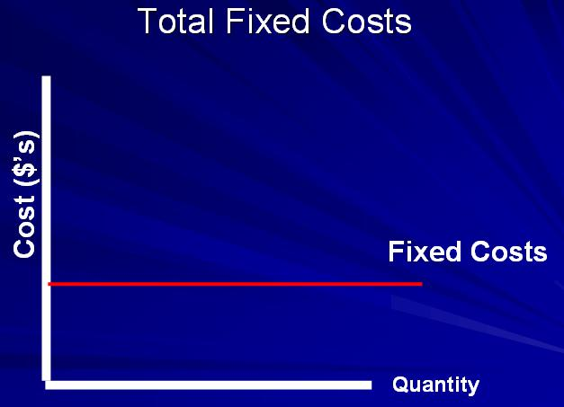 Fixed Costs Do not vary with output Relevant only in the short run Examples
