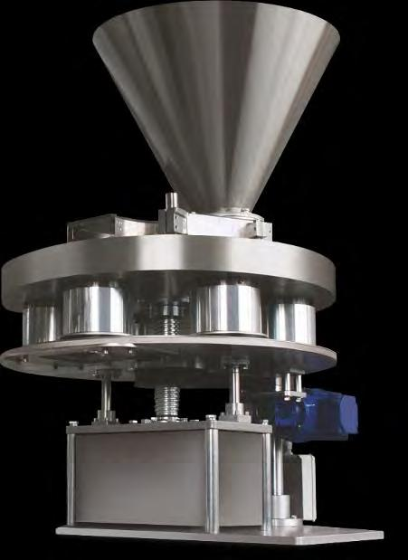VOLUMETRIC FILLERS RADPAK OFFERS We offer volumetric fillers such as auger dossers and cup dossers.