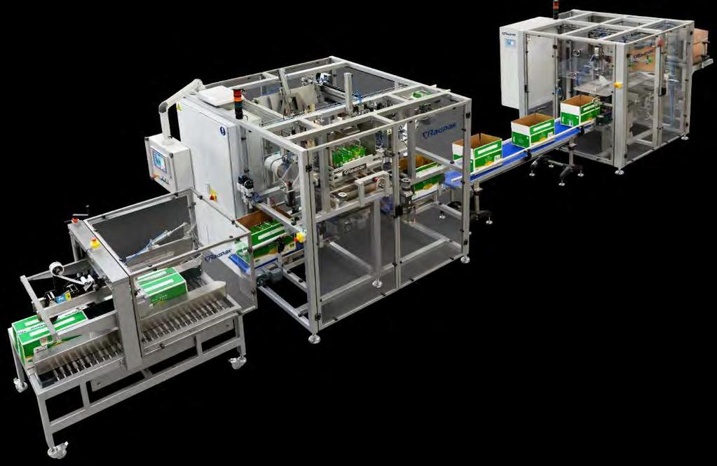 TOP LOAD CASE PACKER CASE PACKERS The RGZ system for packing products in american
