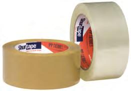 corrugated cartons, paper and film containers; Use with a hand-held dispenser.