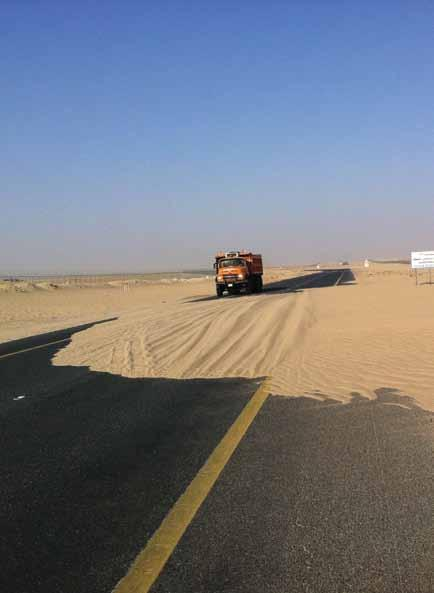 Internal Report Impact of Sand Drifting on WK s Main Roads & Control Measures Adopted Submitted by: Sami Al-Kandari, Senior Environment Engineer, HSE Team (WK) Kuwait, with its geographic location