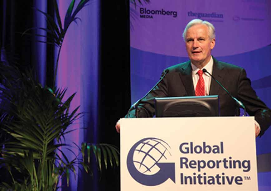 Commisioner Michel Barnier delivers his keynote speech To increase transparency and find solutions to sustainability challenges, it is important to stay informed of new trends and developments in the