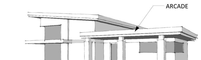 4. Flat roofs may be used for Detached House Buildings.