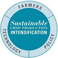 Sustainable Crop Production Intensification (SCPI) SCPI aims to increase crop production per unit area, taking into consideration all relevant factors affecting the productivity and sustainability in