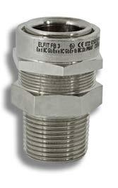 INTRODUCTION FROM CABLE GLANDS TO ELECTRICAL FITTINGS FOR ELECTRICAL PLANTS For armoured and non-armoured