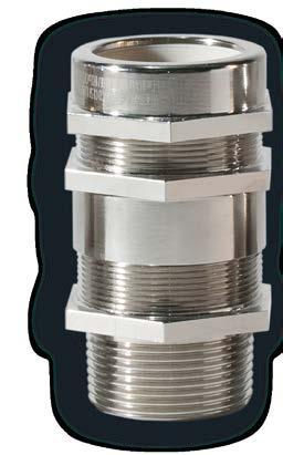 sheat of the cable. For armoured and non-armoured cable, IP66/67.