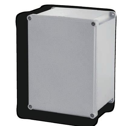 CS, CSG series aluminium junction boxes CS CSG series junction boxes are made from aluminium alloy and given an electrostatically applied epoxy coating containing stainless steel particles that is