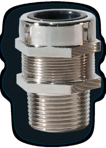 TEV series watertight cable glands for non-armoured cables TEV series cable glands are suitable for use in industrial plant for the direct insertion of non-armoured cables into watertight equipment